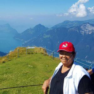 Elizabeth and Claudia visit Switzerland