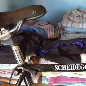 Bicycle and clothing