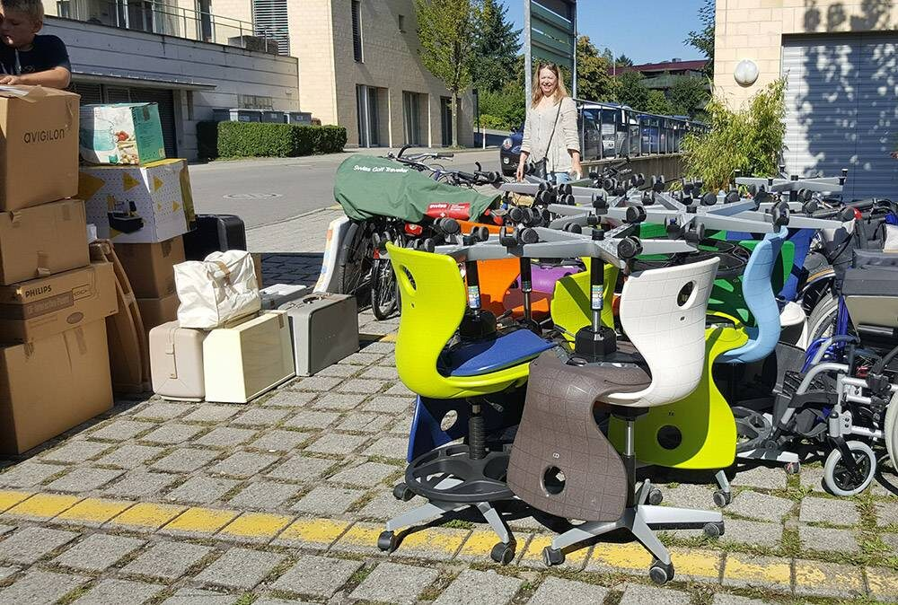 Hunziker AG Thalwil school chairs