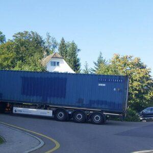 40ft Container auf dem Weg zum Lucky Point!