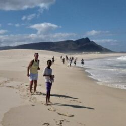 It's a long walk from Meerensee to Kleinmond